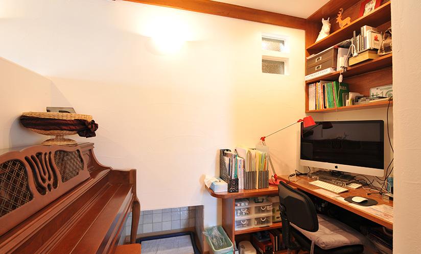 書斎・ピアノコーナー