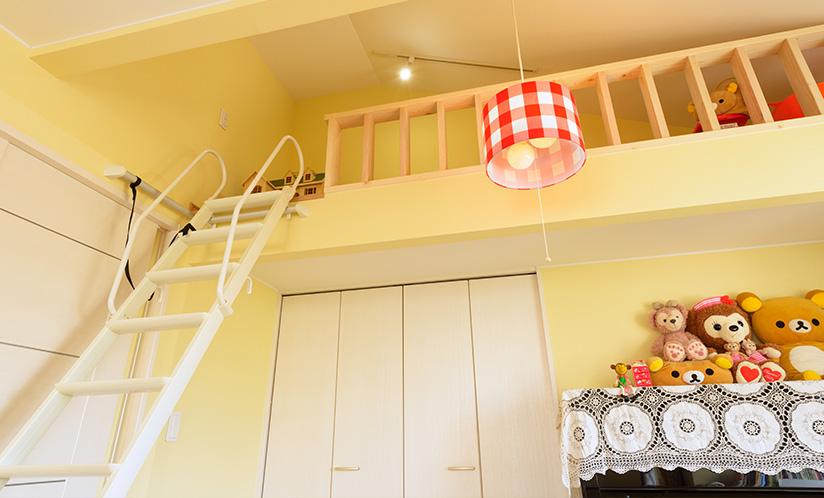 2階 子供部屋ロフト