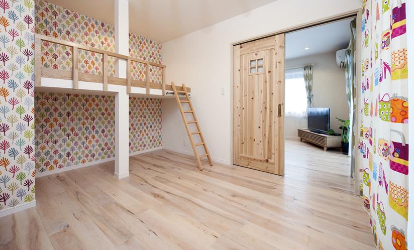 寝室(女の子の部屋)