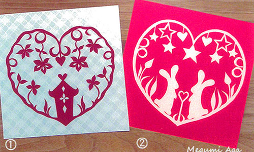 [銀座] 折り紙とハサミで切り絵 ワークショップ