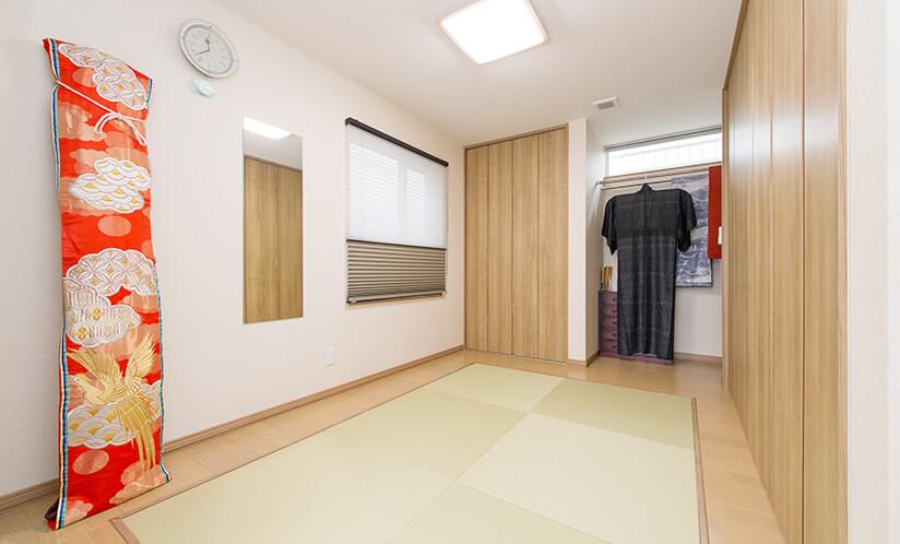 和装の部屋