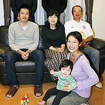 お互いのライフスタイルに配慮。<br>家族が笑顔で集う理想の二世帯住宅