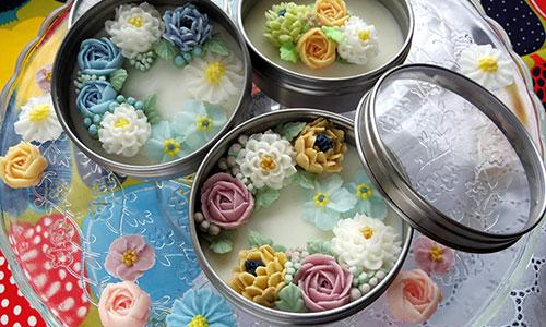 [大田] お花いっぱいアロマ缶講座