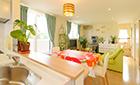 明るく楽しい空間を広げた2世帯住宅