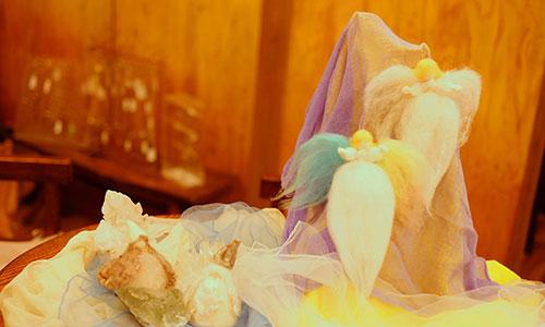 [銀座]〜クリスマスシーズンに贈る〜 『羊毛天使のワークショップ & ライアー演奏会』
