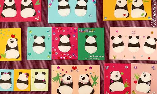 [銀座]「 パンダたちのティータイム4☆パンダ切り絵ワークショップ 」午前のみ受付中