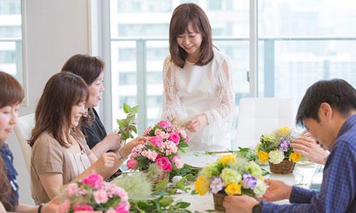 [銀座] 花かご1Dayレッスン