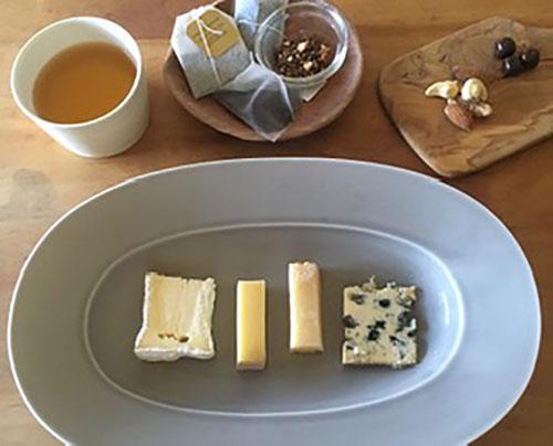 [銀座]チーズとお茶のマリアージュ/ハーブティーとハンドケアのリフレッシュタイム付き