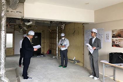 マンションリノベ社内勉強会  in 仙台