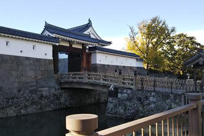 日本名城めぐりで訪れた:静岡県駿府城