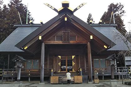 開成山大神宮参拝:リフォームで人を幸せにすると誓う