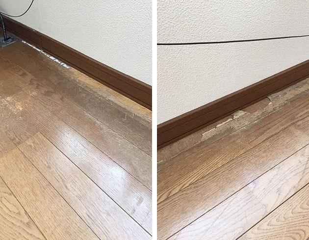 足 の 臭い フローリング 床