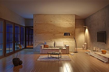 「お部屋の雰囲気を変える照明」